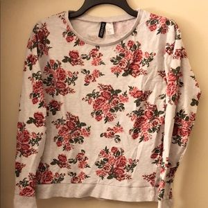 H&M floral Long Sleeves cotton